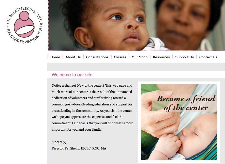 Breast Feeding Center home